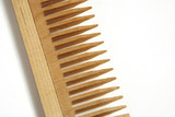 wooden comb poster
