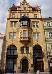 secession house in prague