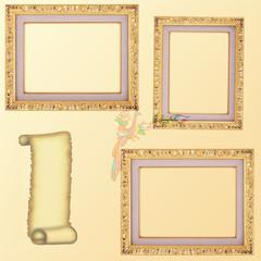 the frames