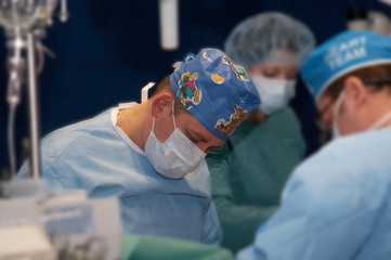 surgical operation on heart