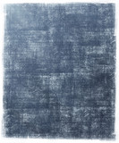 blue metallic scratched background poster