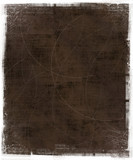 brown scratched background poster