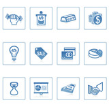 Fototapety web icons : business and finance i