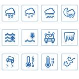 web icons : weather ii poster