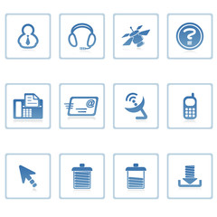 web icons : communication & internet i