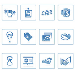 web icons : business and finance i