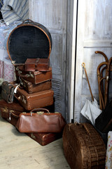 antique baggage