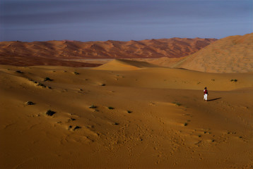 end of day in the empty quarter