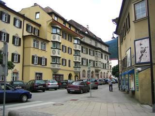 street in austrian town