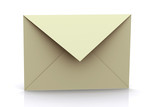 3d rendered letter