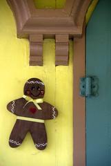 gingerbread man detail