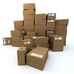 lot of box