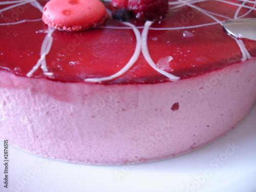 Papiers peints Macarons dessert aux fruits rouges