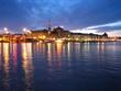 stockholm at twilight