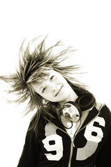 teens hairs
