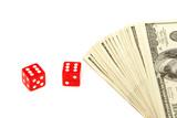 gambling money poster