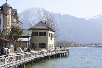 moorage and the alps