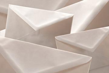 simple white cheap envelopes background