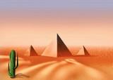 egyptian desert poster
