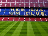 barcelona: estadio camp nou