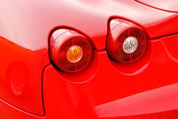 red car brakelight