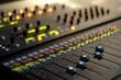 plan large console mixage son