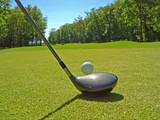 golf le départ
