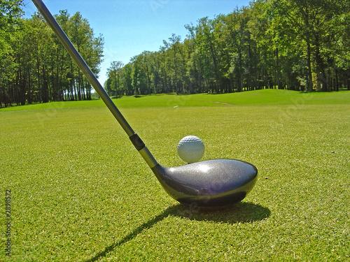 Papiers peints Golf golf le départ
