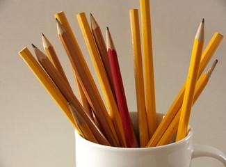 pencils cup