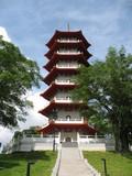 chinese pagoda poster