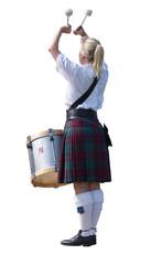 lady drummer