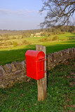postbox the cotswolds poster