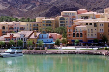 city view of lake las vegas