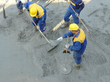 concrete mix leveling poster