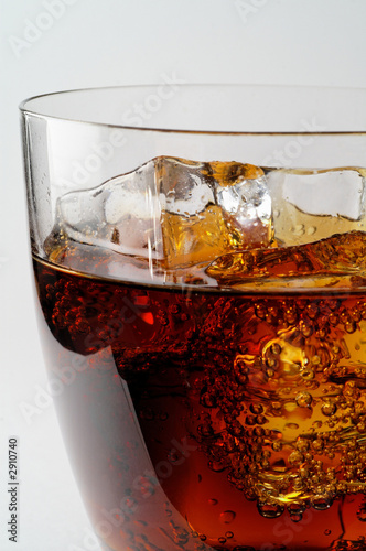 glass of cola drink with ice (3)