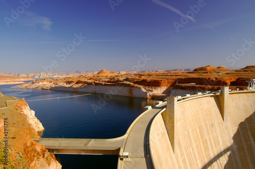In de dag Dam glen canyon dam 2