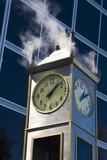 steam clock poster