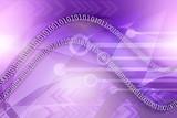 binary data background poster