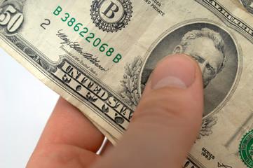 hand-dollar