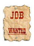 job wanted poster