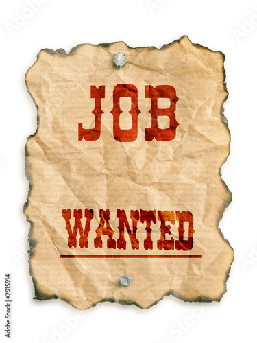 poster of job wanted