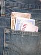 soldi in tasca