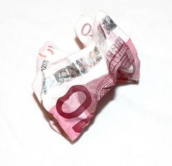 gettare soldi