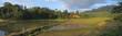 circular ricefields from londa to kete kesu, rantepao, sulawesi