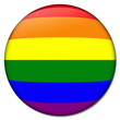 gay regenbogen button