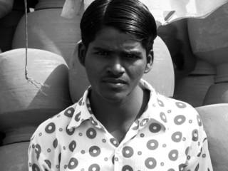 vintage indian guy