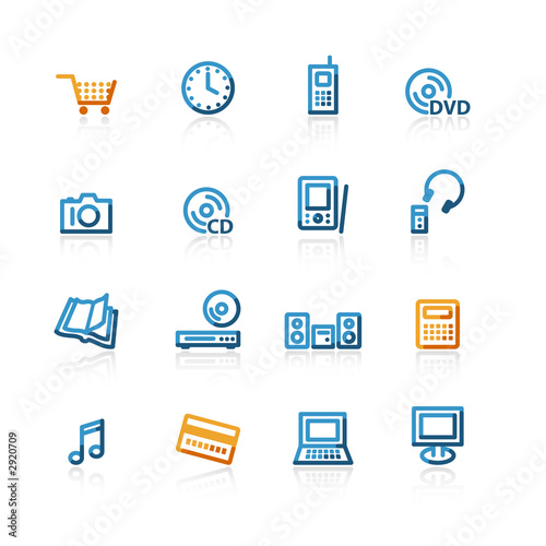 contour e-commerce icons