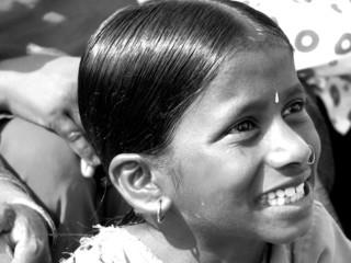 vintage smiling