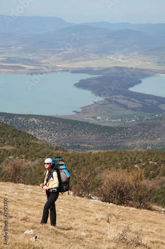 hiking in the crimea