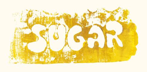 lettering sugar